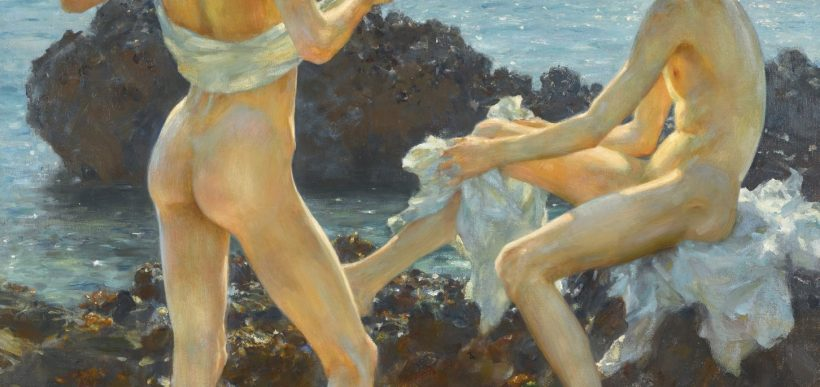 henry scott tuke - under the western sun - le bastart